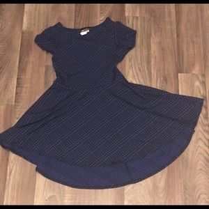 Other - Blue and Black Girls Dress Size 6